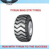 La excavadora de la buena calidad pone un neumático 33.25-29 el neumático diagonal de E-3 OTR