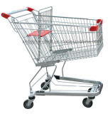 4 عجلات يتسوّق حامل متحرّك, [غروسري شوبّينغ كرت] لأنّ عمليّة بيع