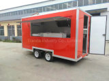 2017 Fabricante Fast Food Trucks Mobile Food Trailer com Ce