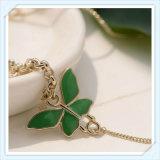 새로운 디자인 녹색 에폭시 나비 점 형식 보석 발목 장식