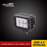 Truck Offroad 표시등 막대를 일해 4inch 30W 크리 사람 LED를 분해한다