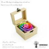 Hongdao 목제 상자, 최신 판매에 의하여 주문을 받아서 만들어지는 작은 나무로 되는 선물 Box_D