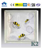 Высокое качество Jinghua художественных K-5 Окраска стекла блок/кирпича