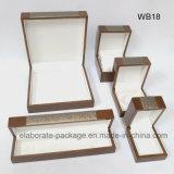Caixa de madeira do cosmético da caixa do perfume da venda por atacado da caixa do pacote do relógio da pulseira