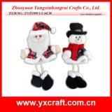 Decoração de Natal (ZY15Y099-1-2) Presente de presente de Natal Bonitos ornamentos de Natal