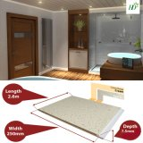 Panel de techo Panel de PVC de la decoración del hogar de 25 cm Ancho de estampado en caliente / Impresión