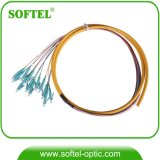 2-144 Core 0.9/2.0/3.0mm en fibre optique monomode Bundle queue de cochon