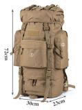 Militärsport-Beutel der Tarnung-65L, der kampierenden Gepäck Mochila Rucksack wandert