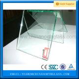 painéis Tempered do vidro de flutuador de 12mm