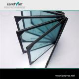 Landvac ديكور فراغ الزجاج المقسى المستخدمة في المباني الزجاج الحائط الساتر