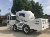 Mini camion mescolantesi concreto a caricamento automatico mobile con il sistema di pesatura elettronico
