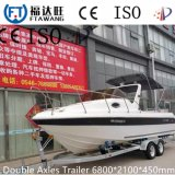 Hochleistungsgalvanisierung-Transport-Schlussteil-Yacht-Schlussteil-Bewegungsboots-Schlussteil
