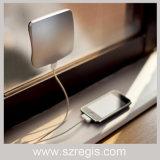 La batería móvil de la potencia de la potencia 4000mAh del nuevo de la adsorción cargador solar creativo de la ventana