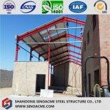 Конструкция пакгауза стальной структуры