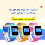 2017人のタッチ画面(Y5)が付いている熱い子供GPSの追跡者の腕時計