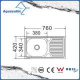 Über GegenEdelstahl Moduled Küche-Wanne (ACS-7642)