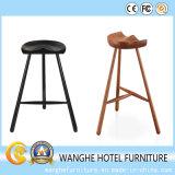 Asientos de madera maciza estilo rústico taburetes para los muebles del hotel