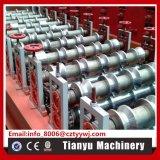 機械を形作る鋼鉄屋根瓦の金属板の金属ロール