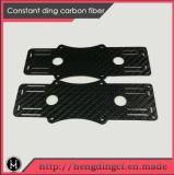 Custom CNC 3K de corte de carbono satinado mate/3K de piezas de fibra de carbono