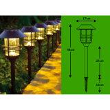 Датчик движения наивысшей мощности в напольном солнечном свете сада фонарика
