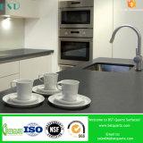 Чисто серый искусственний камень кварца для Countertop кухни