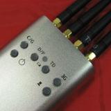 Brouilleur puissant tenu dans la main de signal du téléphone cellulaire 3G avec 4 antennes
