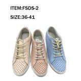 Form-Freizeit bereift Lace-up Dame Shoes