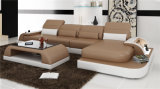Los más solicitados y contemporáneo comerciales Sofá seccional del cuero (HC1093)