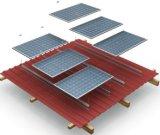 피치 금속 지붕에 의하여 직류 전기를 통하는 강철 태양 장착 브래킷