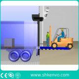 Неподвижный гидровлический разравниватель стыковки нагрузки контейнера