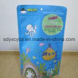 Fastfood- Reißverschluss-Kunststoffgehäuse-Beutel verwendet auf der Imbiss-Nahrung
