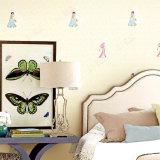 Os desenhos animados baratos da venda por atacado do preço caçoam o papel de parede impermeável do vinil do papel de parede do quarto