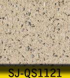 Telhas e bancadas artificiais de assoalho da pedra de quartzo dos materiais de construção