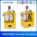 Imprimante élevée du chocolat 3D de Fdm de haute précision d'intelligence d'affichage à cristaux liquides d'Allcct