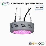 46*3W com eficiência energética LED UFO crescer a luz para a cultura comercial