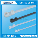 Attaches à câble en plastique Attaches à câble à double verrouillage pour le liaisons