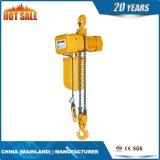 Таль с цепью светлой обязанности высокоскоростная электрическая с верхним агрегатом крюка