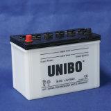 Performance JIS de batterie automatique de N70 12V70ah la haute normale sèchent la batterie chargée de voiture