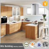 Moderner Entwurfs-europäische Art-hoher glatter Küche-Schrank