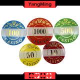 O chipset do póquer do exemplo do casino 760PCS Alluminum e com bronzagem de microplaquetas da tabela do casino do jogo ajustou Ym-Lctj004