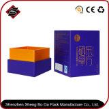 Logotipo personalizado rectángulo Caja de papel de regalo para los productos sanitarios