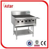 Grabadora de 5 de barbacoa de gas para uso comercial equipamiento de cocina