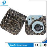 Plutônio metálico Instax de couro Mini8 Mini8 de Fujifilm do estilo mais o saco do caso