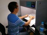 Máquina de teste da força do Fastness de cor da tela das lâmpadas do padrão 6 (GW-017)