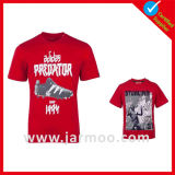 De gepersonaliseerde Afgedrukte Promotie Ronde T-shirt van de Hals