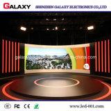 Risparmio di energia esterno/dell'interno che fonde sotto pressione di cartello locativo dello schermo di visualizzazione del LED di colore completo per la pubblicità del P4.81, P5.95, P6.25, P5.68