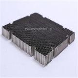 Черный круглый алюминиевый сот для светофора (HR834)