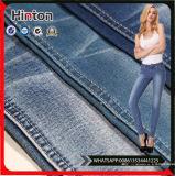 Tessuto del denim di alta qualità 75%Cotton 15%Polyster 8%Rayon 2%Spandex