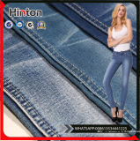 Stof de van uitstekende kwaliteit van het Denim 75%Cotton 15%Polyster 8%Rayon 2%Spandex