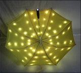 Promoção LED Light Umbrella Publicidade LED Umbrella Handle LED Light Umbrella